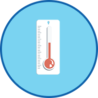 Thermometer Symbol